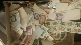 Large Lot Of Assorted Vintage Stamps