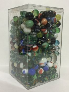 Very Large Collection Of Vintage Marbles