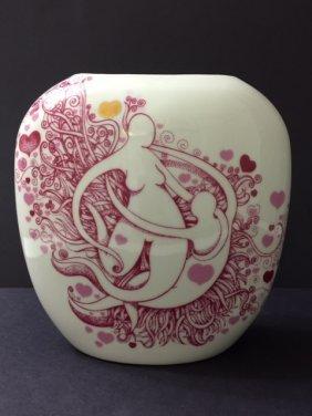Rare Mid-century Modern Vase By Arne Rasmussen