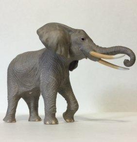 Large Signed Lenox Porcelain African Elephant
