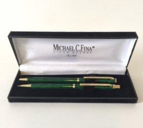 Michael C. Fina Fifth Avenue Pen & Pencil Set