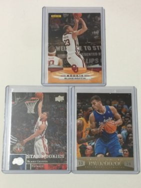 Lot Of 3 Mint Blake Griffin Rookie Cards