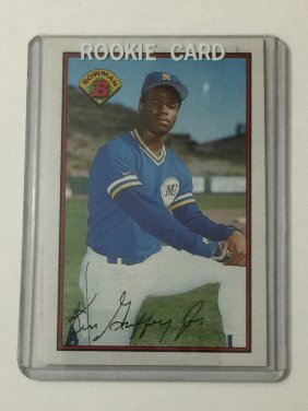 Hof 1989 Bowman Mint Ken Griffey Jr Rookie Card