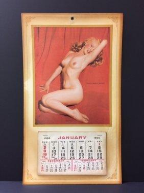 Complete 1955 Marilyn Monroe Nude Calendar