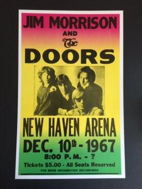 Jim Morrison & The Doors Concert Poster
