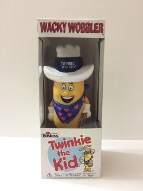 "Rare/vintage Funko Wacky Wobbler ""twinkie The Kid"""
