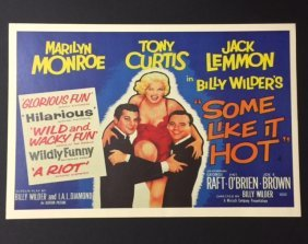 Marilyn Monroe Movie Theatre Lobby Poster