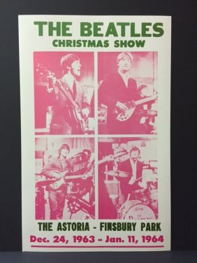 The Beatles Christmas Show Concert Poster