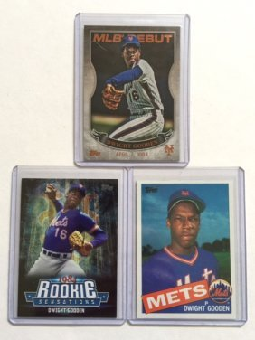 Dwight Gooden Rookie & Debut Baseball Cards