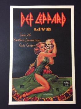 "Def Leppard Live Music Concert Poster 12"" X 18"""