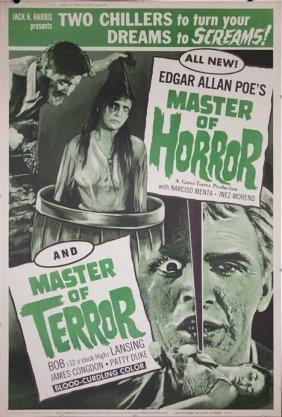 Master Of Horror Terror (1965) Poster Movie 40x60