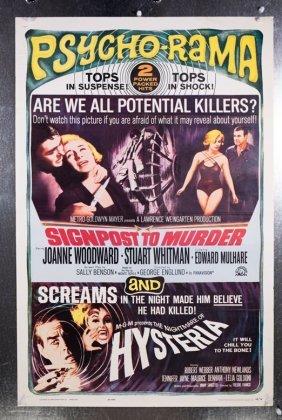 Signpost To Murder Nightmare Hysteria (1965) 27x41