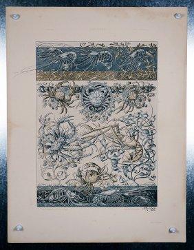 The Animal Seder Crustasceans C.1901