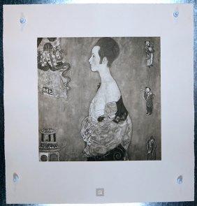 Klimt Original 1931 Girl In Profile