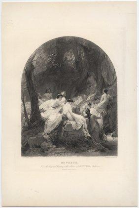 Orpheus Jalabert Heliogravure 1894