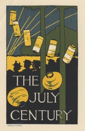 The July Century American Lithograph