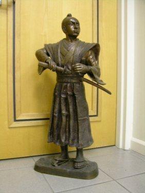 J Moigniez Bronze Sculpture Of A Sumari.