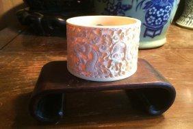 Elephant Bone Vase