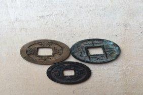 Old Chinese Money 3pcs