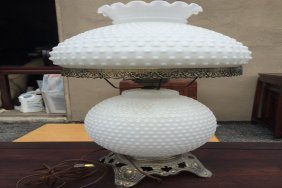 Antique Glass Lamp