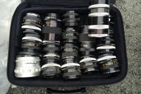 Old Vintage Camera Lenses
