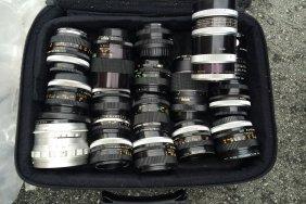 Old Vintage Camera Lenses