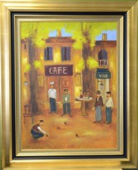 "S. Beukes ""Caf� Et Vins"""