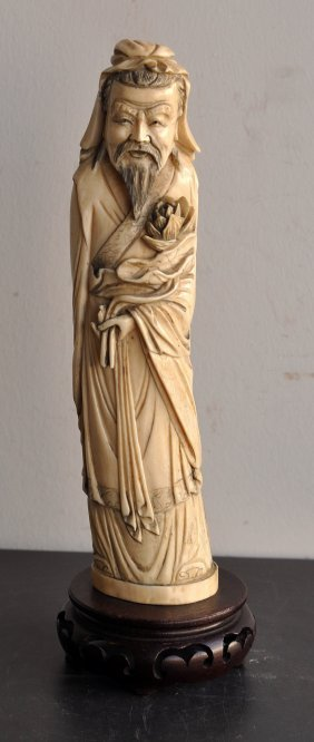 Chinese Immortal In Ivory