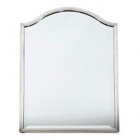 Bvlgari - Pair Of Large Silver Frame Mirrors