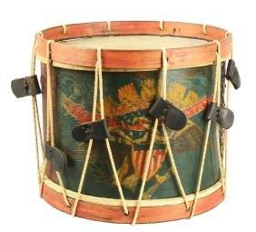 Civil War Infantry Drum.