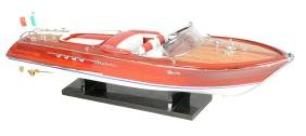 Scale Model Riva Aquarama Speedboat.
