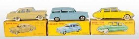 Lot Of 3: Dinky Toys Die-Cast Automobiles.