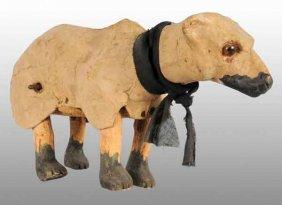 De Camp Clockwork Polar Bear Toy.