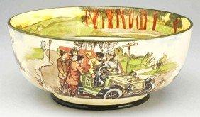 Early Royal Doulton Automotive Series Bowl.