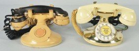 Lot Of 2: Western Electric Painted 202 Telephones