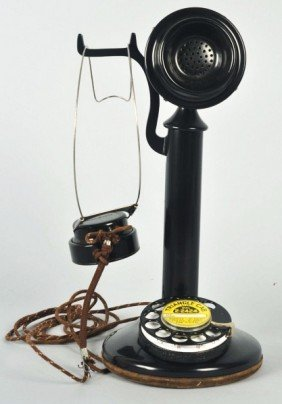 Western Electric Dial Candlestick Telephone.