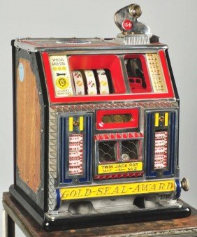 Watling 5� Baby Bell Coin-Op Machine.