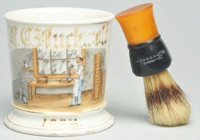 Mold Maker Shaving Mug.