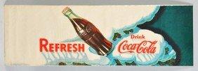 Paper Coca-Cola Poster.