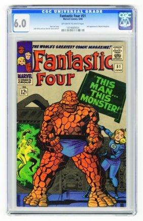 Fantastic Four #51 CGC 6.0 Marvel Comics 6/66.