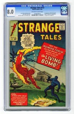 Strange Tales #112 CGC 8.0 Marvel Comics 9/63.