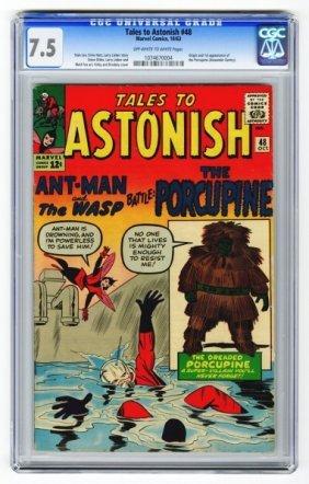 Tales To Astonish #48 CGC 7.5 Marvel Comics 10/63