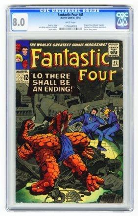 Fantastic Four #43 CGC 8.0 Marvel Comics 10/65.