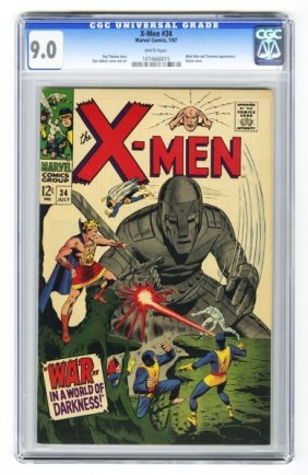 X-Men #34 CGC 9.0 Marvel Comics 7/67.