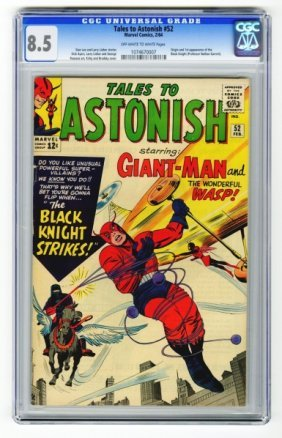 Tales To Astonish #52 CGC 8.5 Marvel Comics 2/64.
