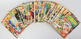 Lot Of 80+ 1970s Conan The Barbarian Comic Books.