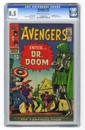 Avengers #25 CGC 8.5 Marvel Comics 2/66.