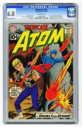 Showcase #35 CGC 6.0 D.C. Comics 11-12/61.