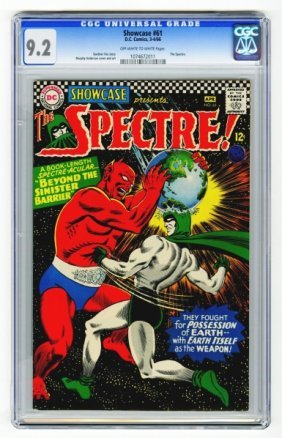 Showcase #61 CGC 9.2 D.C. Comics 3-4/66.