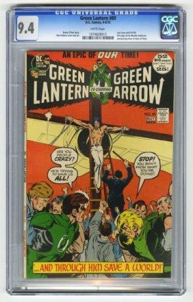 Green Lantern #89 CGC 9.4 D.C. Comics 4-5/72.